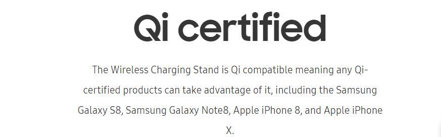 Samsung rápido cargador inalámbrico Qi de carga rápida 4