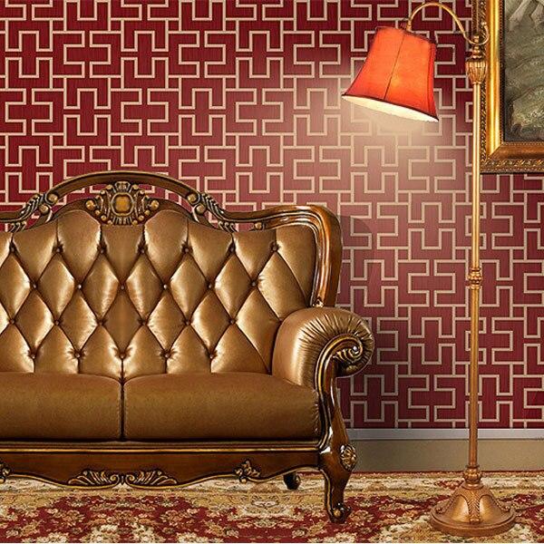 ФОТО beibehang Vintage Chinese Wall Paper Simple Elegant Hotel Decor Wallpapers Mural Decorative Vinyl Wallpaper roll papier peint