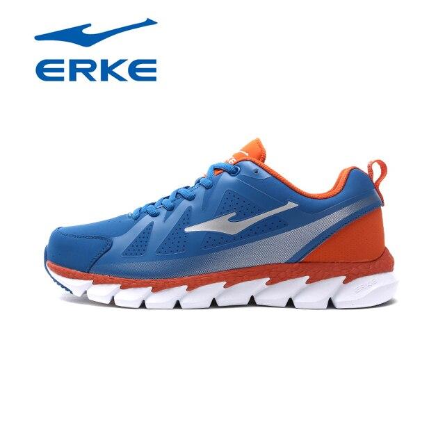 Ерке мужские кроссовки 2017 Весна осень зашнуровать тренер Спортивная обувь Открытый спортивные кроссовки для мужчин удобные