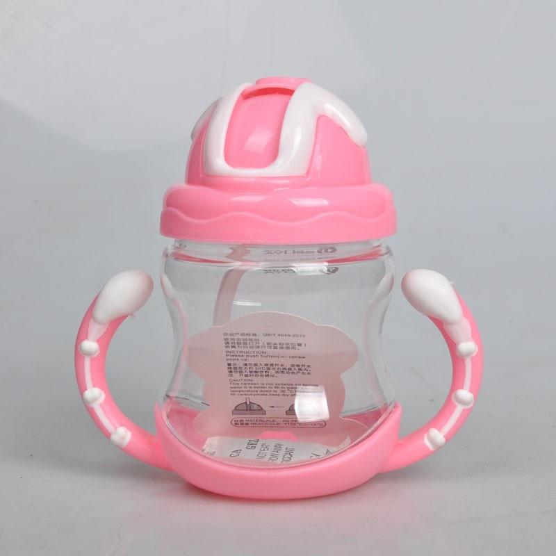 शिशुओं के बच्चों को दूध पिलाने की बोतल का पानी दूध की बोतल 320 मिलीलीटर नरम मुंह वाला डकबिल सिप्पी शिशु दूध पिलाने की बोतलें