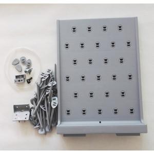 Image 3 - X001 Droogrek Peg Board Polypropyleen Kleur grijs Afvoer Rack, 550mm * 440mm * 11.5mm