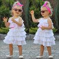 Hot Princess Baby Girl Party Dress Lace Layered Cake Dress Sundress Tutu Clothes