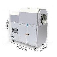 Gas Used Peanuts Roasting Machine Nut Seed Roaster Capacity 10 13kg Time 220v 90w
