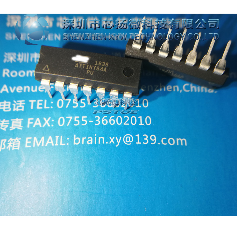 New Original Non-counterfeit Attiny84a-pu Attiny84a Dip Professional Design please Contact Us To Get Vip Bulk Price If You Need More