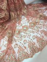 African Tulle Lace Fabric 2017 African French Lace Fabric High Quality With Stones Nigerian Embroidery Tulle lace  jsd-1751