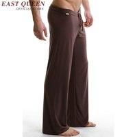 Pantalones de pijamas de la nueva llegada 2016 para hombre ropa de noche atractiva para hombre pantalones del sueño masculino sexy pijamas para hombres AA585