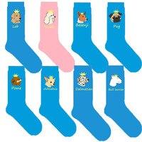 women-dog-socks-with-bull-terrier-pug-dalmatian-labrador-retriever-poodle-basenji-pomeranian-chihuahua-crown-sock-2050100pairs