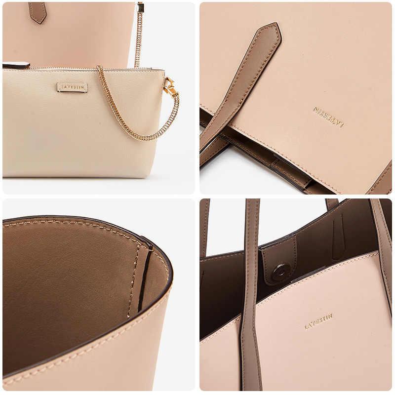 2e0312df222e ... LA FESTIN 2018 New Female Bag Simple large-capacity handbag fashion shoulder  bags with Small ...