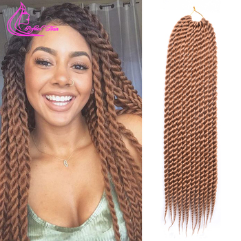 Promotion Synthetic Braiding Hair Extension Kanekalon Jumbo Braid Hair Havana Ma