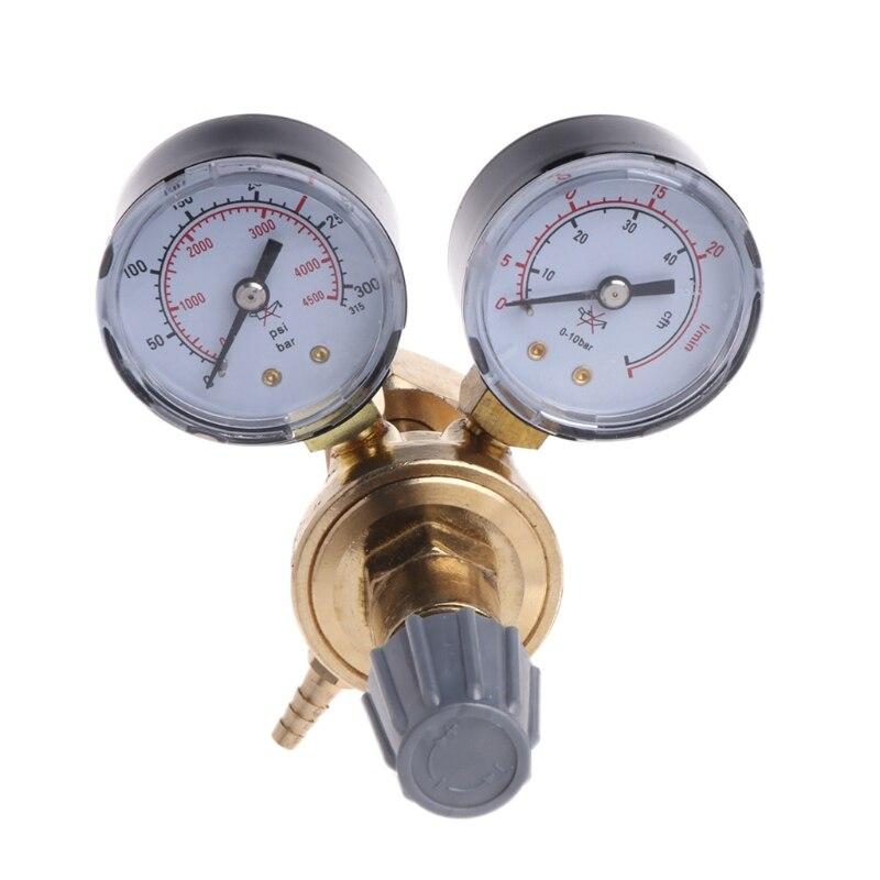 Argon CO2 Gauges Pressure Reducer Mig Flow Meter Control Valve Welding Regulator LS'D Tool