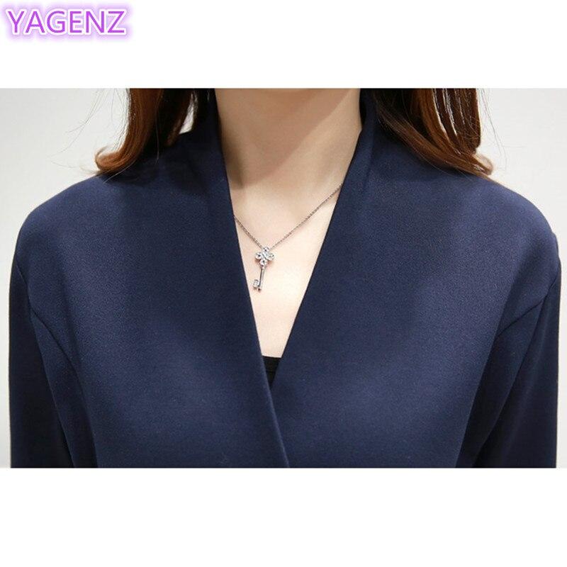 YAGENZ 패션 우아한 드레스 나비 자수 드레스 플러스 - 여성 의류 - 사진 3