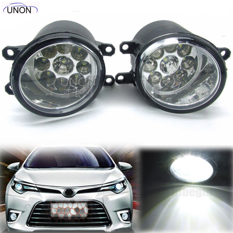 2X H11 <font><b>Fog</b></font> <font><b>Light</b></font> Halogen /Led <font><b>Fog</b></font> <font><b>Lights</b></font> For Toyota Corolla Camry Yaris RAV4 <font><b>Lexus</b></font> GS350 GS450h <font><b>LX570</b></font> HS250h image