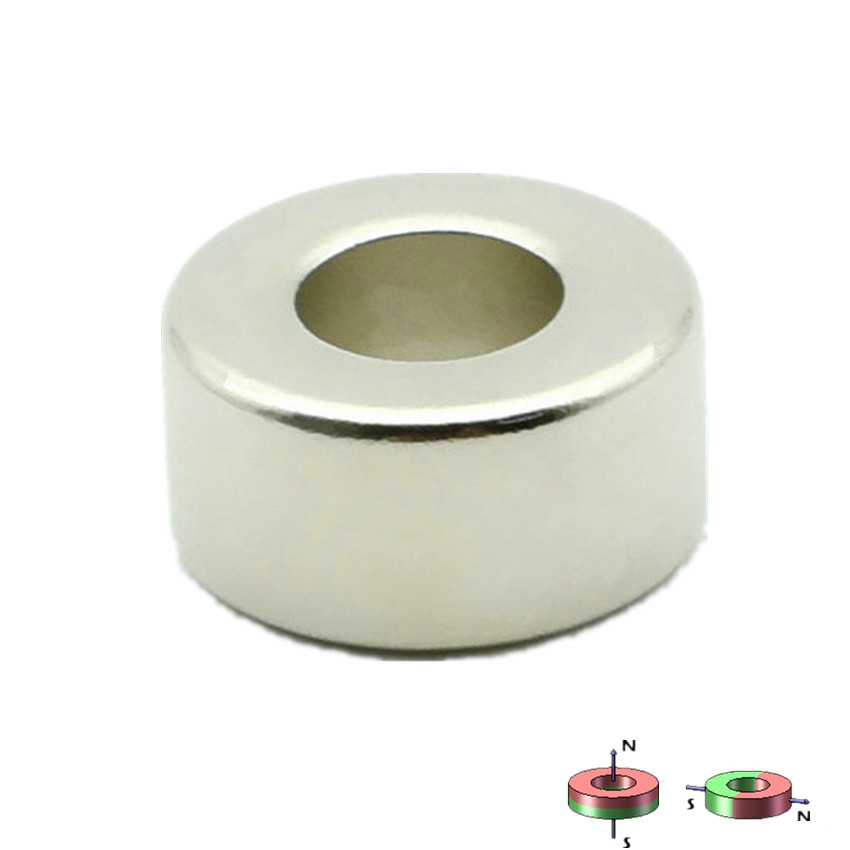 Diametrically NdFeB Magnet Ring Diameter 12.7x6.35x6.35 mm 1/2*1/4**1/4 Tube Magnetized Neodymium Permanent Magnets ampeg svt 410he cover