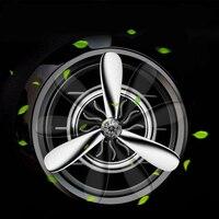 בושם רכב מזגן Outlet Vent קליפ מיני מטוסי אוהד ראש ריח ניחוח מטהר אוויר ריח מתוק קישוט רכב