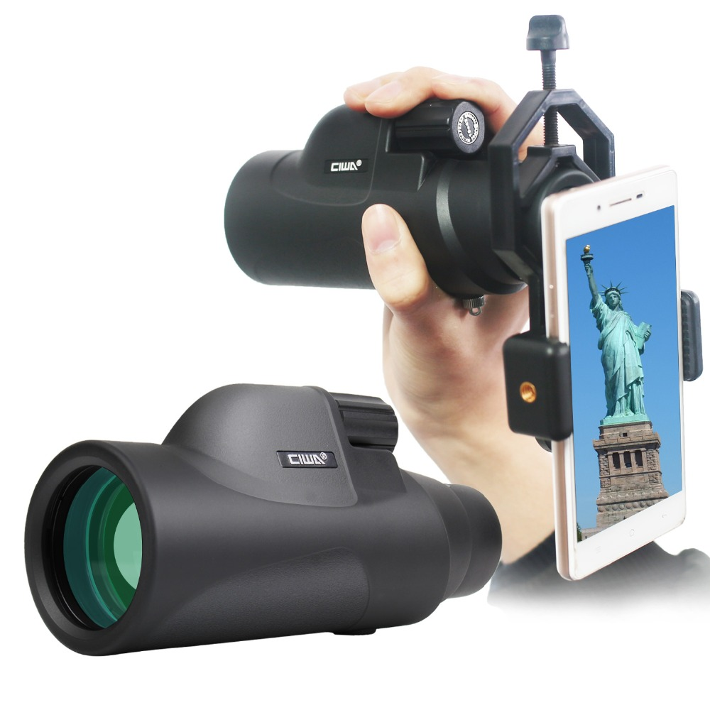 Binoculars Waterproof Black Monocular Telescope vision king Non-Night Vision Handheld Monocular Professional Hunting Telescope new arrival handheld 4 5x40 monocular night vision for hunting for shooting black