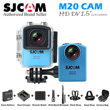 Original SJCAM M20 Action Camera Sport DV NTK9666 4K Wifi Gyro Mini Camcorder 2160P HD 16MP RAW Format Waterproof udpat M10 plus