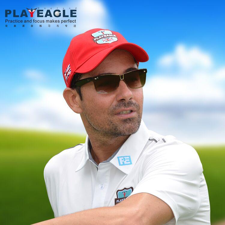 Prix pour Golf Casquettes Chapeaux Unisexe Golf Visière/Cap Soleil Cap Respirant Contraste Couleur Loisirs Baseball Sport Caps