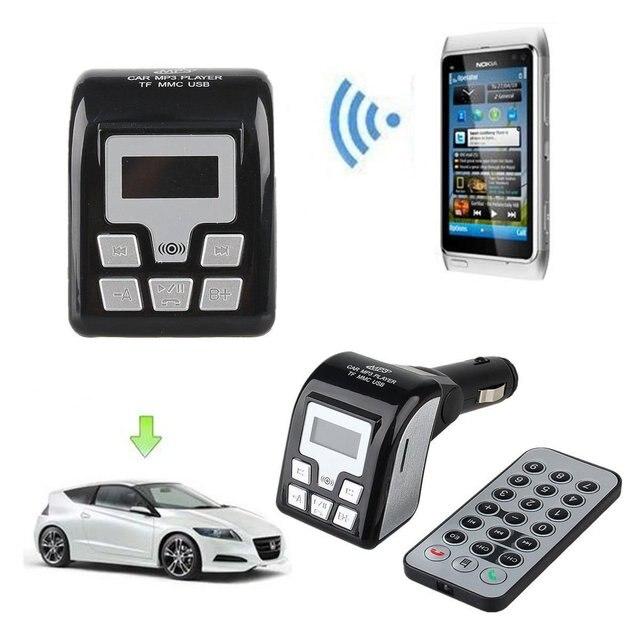 lcd display car fm radio transmitter car mp3 player fm. Black Bedroom Furniture Sets. Home Design Ideas