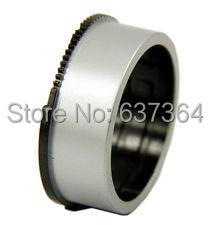Anillo de cilindro cilíndrico para engranajes de lente para Nikon Coolpix S3100 S4100 S4150 S2600 PARA CASIO EX-ZS10 ZS10 ZS12 ZS15 Z680 Pieza de reparación Plateado