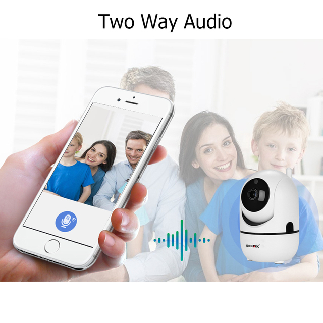 SECTEC Cloud Wireless IP Camera 1080P Intelligent Auto Tracking Of Human Home Security Surveillance CCTV Network Wifi Cam 3