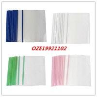 10PCS Plastic Clear Sliding Bar A4 Paper Business File Folder Cover