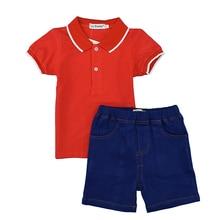 2016 hot sale summer clothing set baby boys girls clothing kids clothes children short sleeve sport suit