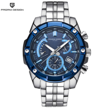 PAGANI luxury design brand new mens Watches Full Steel bracelet quartz chronograph Mens waterproof sport watch man