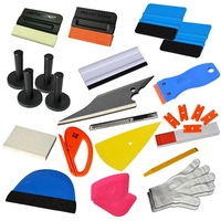Tools Set Kits Car Window Tint Film Applicator For Automotive Wrapping Decals Diy Interior