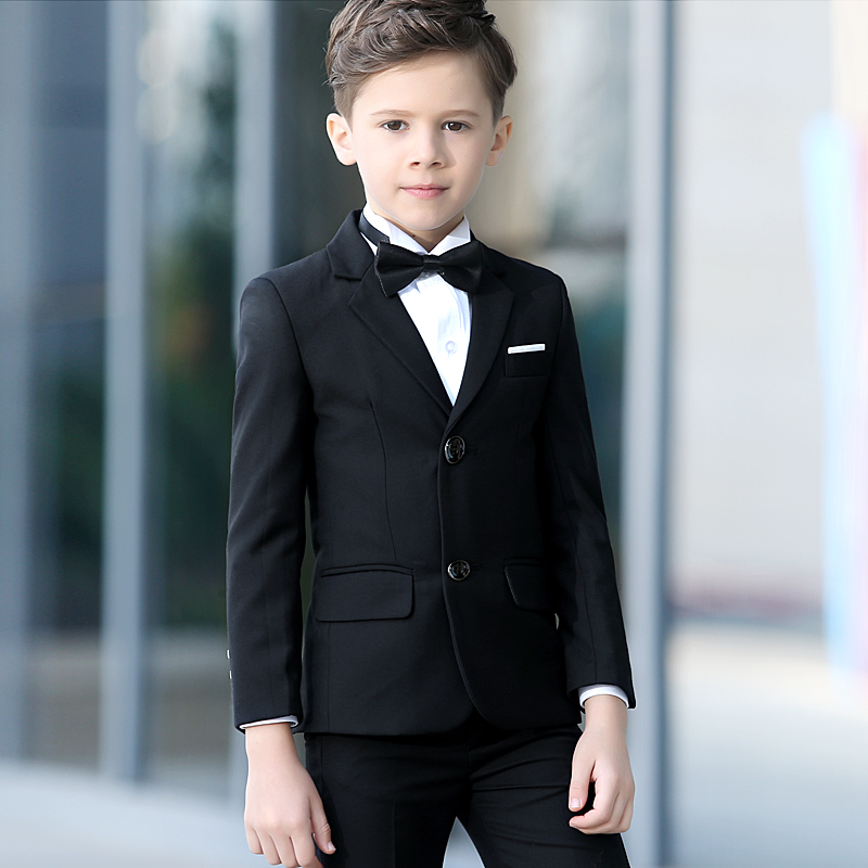 Children's suits Korean boy suit for children Spring and summer students Performance costumes Wedding flowers boy's clothing fit sds