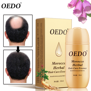 30ML Moroccan Hair Loss Treatment Ginseng Ginger Hair Growth Oil Herbal For Dry Hair Care Types Scalp Herbal Treatment Essence