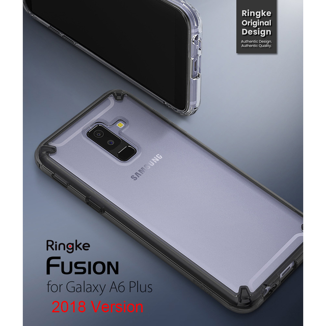 68dd229bfed 100% Original Ringke Fusion Case for Samsung Galaxy A6 Plus 2018 (Releaded  in 2018)