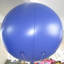2 м ПВХ рекламные надувные гигантские шары XD0404 круглый Небесный баллон гелия