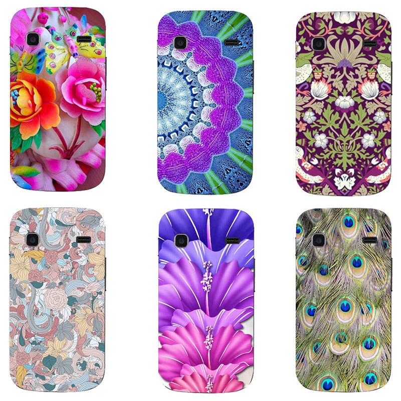Fashion Printed Case For Samsung Galaxy Gio S5660 Cover Original Cute Printing Drawing Hard Plastic Phone Case