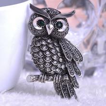 Owl Vintage Brooch
