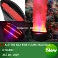 1 5 meter seide 36 FÜHRTE feuermaschine DJ DISCO hochzeit wirkung ausrüstung feuer flamme maschine party Ferien bühne flamme maschine-in Bühnen-Lichteffekt aus Licht & Beleuchtung bei