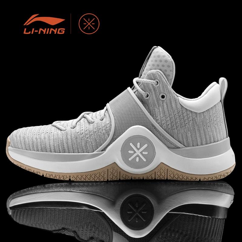 Li-Ning Men WOW 6 Satori Basketball Shoes Cushion Sneakers Li-Ning Cloud Support LiNing Sport Shoes ABAM089 XYL135