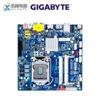 Gigabyte ga b75tn рабочего Материнская плата B75TN B75 LGA 1155 i3 i5 i7 DDR3 8 г Mini ITX