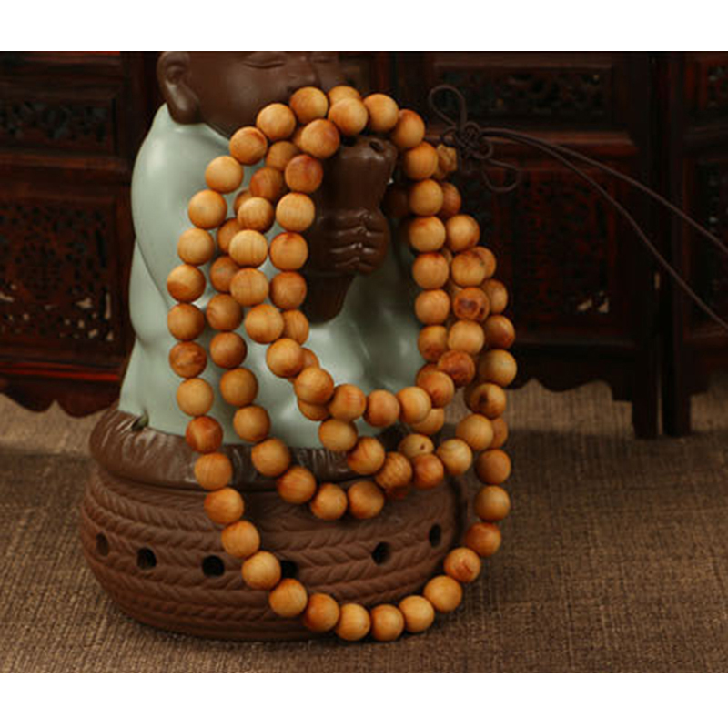 Cindiry 108*8mm/ 108*6mm New Natural Sandalwood Buddhist Wens