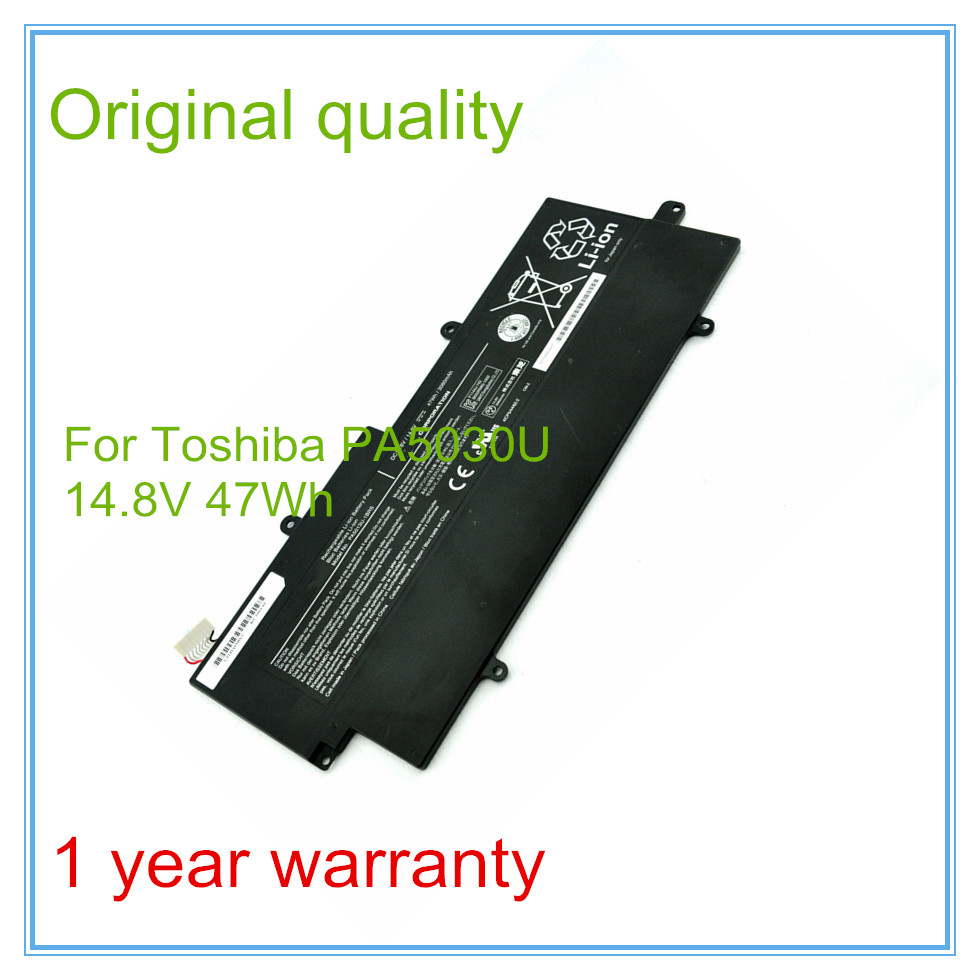 Original New PA5013U-1BRS PA5013U Laptop Battery For Z835 z830 Z930 Z935 Ultrabook 14.8V 47WH 3060mAh toshiba portege z 830
