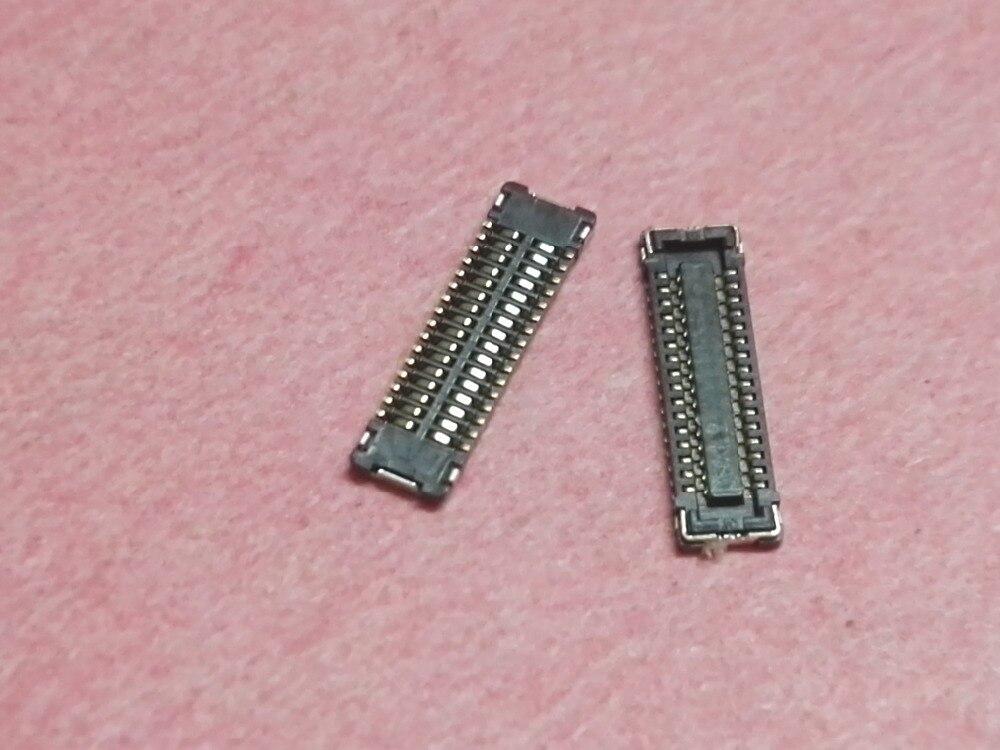 10pcs LCD Display screen FPC Connector Port Plug logic on motherboard for Apple iPad mini 1 2 3 A1432 A1455 A1454 MINI1 MNI2