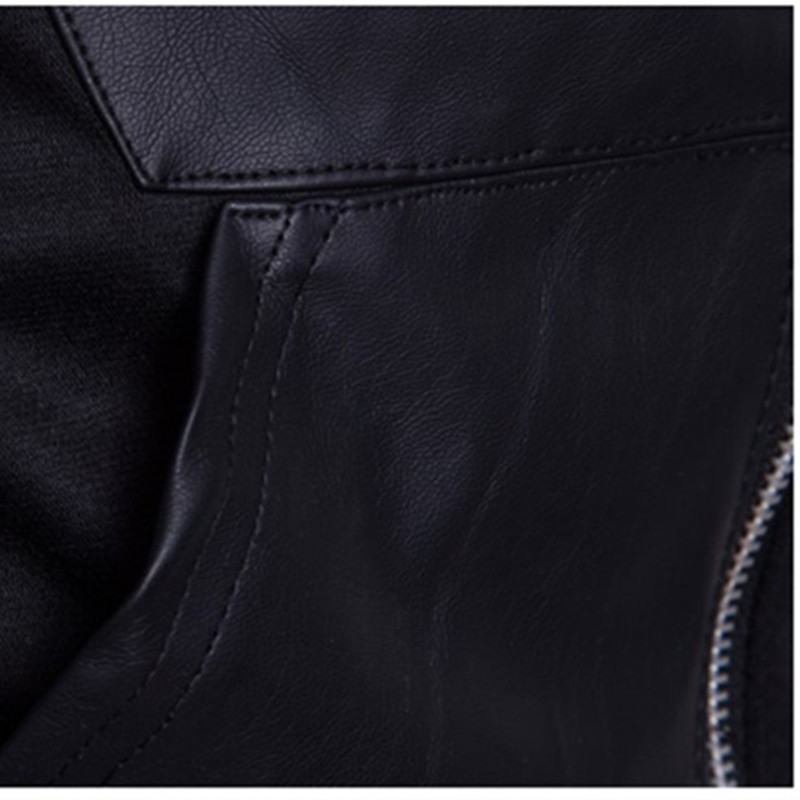 2019 модные толстовки с капюшоном Для мужчин Толстовка Топ пуловер Блузка Hombre хип хоп Для мужчин s Черный Толстовка с капюшоном на молнии Slim Fit Мужская толстовка - 5