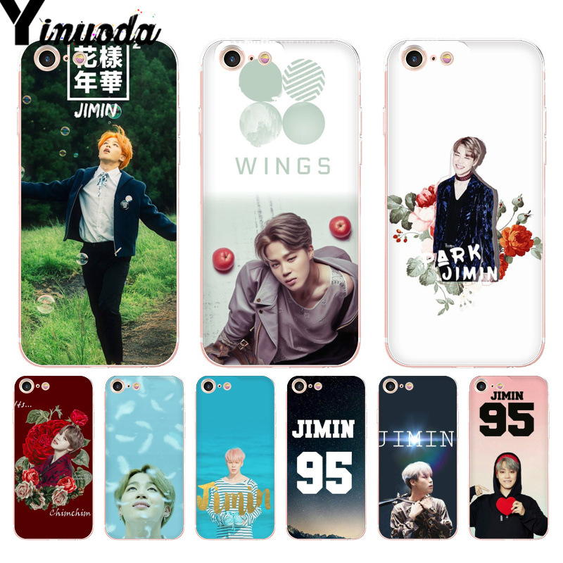 Cellphones & Telecommunications Audacious Yinuoda For Iphone 7 6 X Case Jimin Bts Top Detailed Popular Phone Case For Iphone 8 7 6 6s Plus X 10 5 5s Se Xr Xs Xsmax Bright And Translucent In Appearance