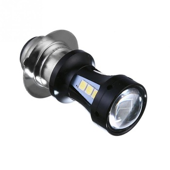 Universal Type Motorcycle LED Headlight Bulb H6 P15D-25-1 3030 1000LM 6500K 18 LEDs Light Moto Accessories Fog Lamp image