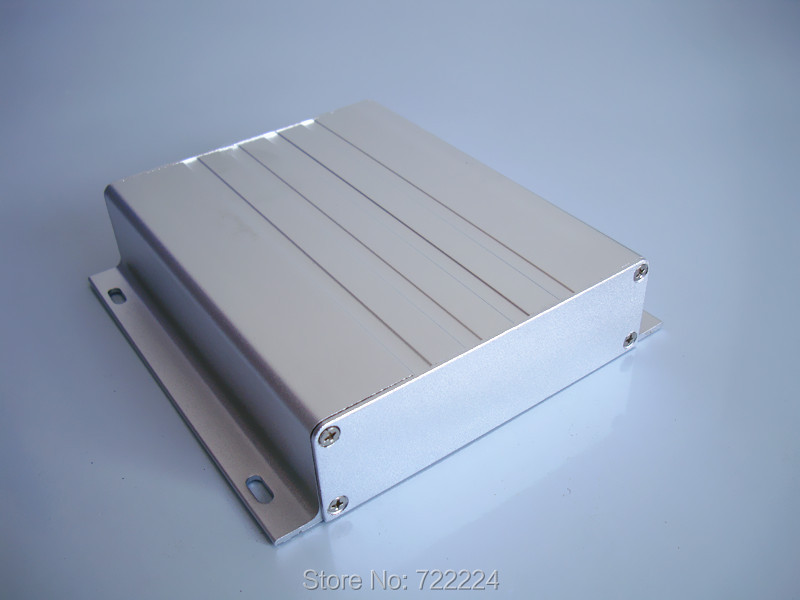 10 pcs/lot 130*31*130mm aluminum box for electronic project box business housing case power amplifier box housing DIY PCB case