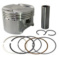 Motorcycle Engine Parts STD Cylinder Bore Size 70mm Pistons & Rings Kit For Honda AX-1 250 NX250 NX 250 XL250 XL 250 KW3