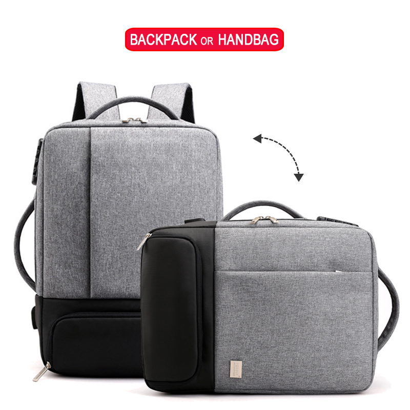 Image 5 - Anti Theft Backpack Women Men Laptop Bagpack 15.6 USB Charger Male Notebook Back Pack Travel School Bag Mochila Black Men's Bags-in Backpacks from Luggage & Bags