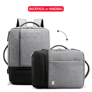 Image 5 - Sac à dos Anti vol pour femmes et hommes, chargeur USB pour ordinateur portable, cartable pour voyage, cartable noir, sacoche pour ordinateur portable 15.6