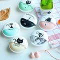 Meninas bonitos Gato Macarons 3.5mm Fones de Ouvido Estéreo com Fone de Ouvido caso para o telefone xiaomi meninas miúdo da criança estudante para mp3 presente