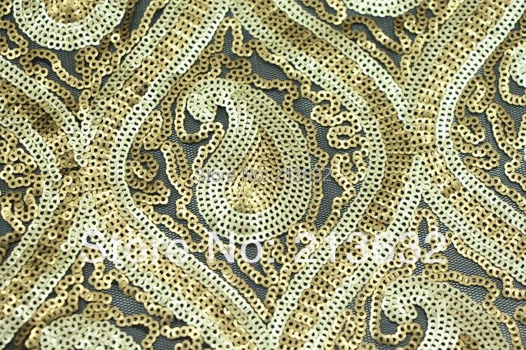 Poz10 текстильной вышивка ткань цветок бисер вышивка текстильной одежды Штаны ткань дизайнер ткань пряжи - 3