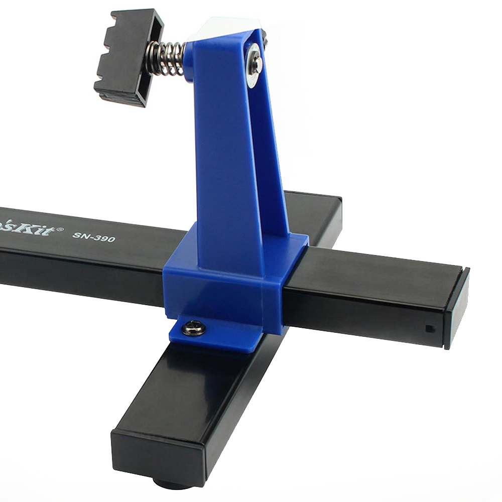 Pro'sKit SN-390 Adjustable PCB Holder 360 Degree Rotation Printed Circuit Board Jig Soldering Assembly Stand Clamp Repair Tools